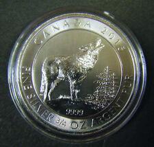 2015 Canada $2 Grey Wolf Series 3/4oz Silver Bullion Coin Canadian 0.75oz