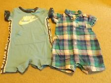 Baby Boys Rompers 3 Months Lot of 2 Spring/Summer