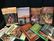Group Of Hunting Books Deer Rabbit Woodcock Turkey And Predator Calling