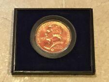 Paul Revere American Revolution Bicentennial 1776-1976 Medal   1975 case & paper