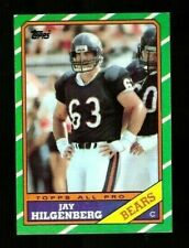 1986 Topps Football JAY HILGENBERG Rookie Card #17 NM/MT