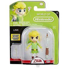 """NEW 2017 Zelda LINK With Wand World Of Nintendo 4.5"""" Figure"""