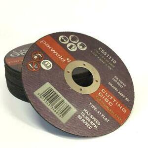50 PARWELD Super Thin 115mm  1mm metal cutting discs stainless slitting disc