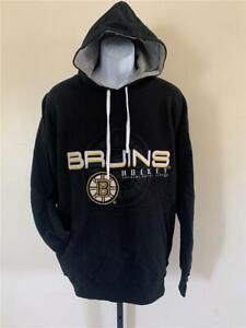 New Boston Bruins Mens Size XL Black G-III Hoodie