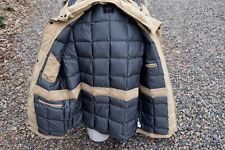 Paul Shark Yachting Down jacket hooded Fur Detachable Tan Retail $859! Men's L