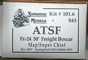 SUNSHINE MODELS KIT # 101.6 FE- 24 FREIGHT BOXCAR