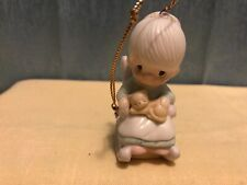 Precious Moments 1983 Purrfect Grandma E 0516 Figurine Christmas Ornament