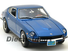 MAISTO 1:18 1971 NISSAN DATSUN 240Z FAIRLADY DIECAST MODEL CAR BLUE 31170
