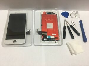 iPhone 8 WHITE Color  LCD  Touch Screen  Digitizer Assembly 3D TOUCH +TOOL