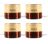 4 X 63.5mm voice coil for JBL 15 speaker M115-8A replace 12 inch 15inch woofer