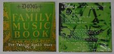 Dog  The Family Music Book 2   sealed U.S. promo cd  Card cover