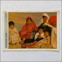 Pushkar Fair India 1992 Postcard (P397)