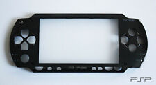 PSP 1000 1XXX Replacement Black Front Faceplate - UK Dispatch