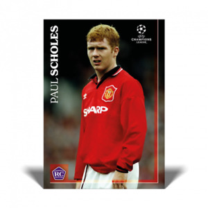The Lost Rookie Card Paul Scholes Manchester United Topps RC Limited