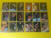 Lot of 18 WWF/WWE/WCW Wrestling Trading Cards Feat The Rock, Stone Cold and more