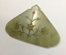 MUGHAL ANTIQUE OLD JADE PENDANT ORIGINAL