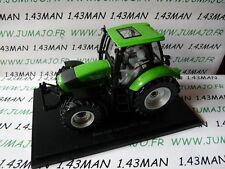 Tracteur 1/43 universal Hobbies n° 82 DEUTZ- FAHR Agrotron TTV 2003