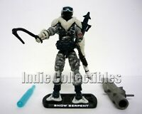 GI JOE SNOW SERPENT Rise of Cobra Figure TRU Exclusive ROC COMPLETE C9+ v10 2009
