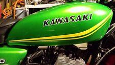 KAWASAKI kh250 S1 250 TANK/ FAIRING NEW PINSTRIPE SET FOR RESTORATION ANY COLOUR
