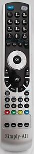 New Goodmans GTVL27W23HD Simply-All™ Replacement Remote Control