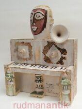Gilbert Portanier grande sculpture musique pièce unique signée datée 1984