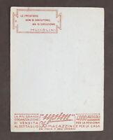 Pubblicità Magazzini Upim - carta assorbente - Mussolini - anni '30