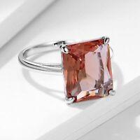 Luxus Zultanit Paraiba Smaragd Rubin Edelstein Echt Silber 925 Ring Silberring.