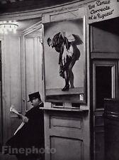 1932/68 Vintage 8x10 BAL TABARIN Caberet Club Doorman Paris France Art ~ BRASSAI