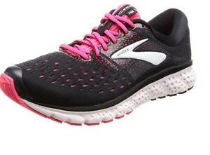 Brooks Glycerin 16 Women's Running Shoes Black Pink 1202782A070 US8 UK6 EUR39