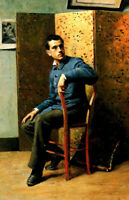 """high quality oil painting handpainted on canvas """"Portrait of a man  """""""
