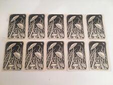 Mushroom Elf Man Recycled Paper Postcards 10 Count Vintage 70's Era