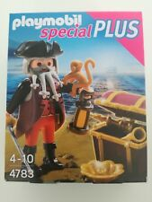 Playmobil 4783 - Pirate with treasure chest (MISB, NRFP, OVP)