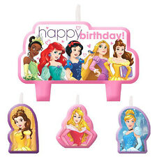 Disney Princess Birthday Cake Candles Cake Topper Girl Party Supplies Decoration