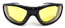 Motorrad-Brillen in Gelb
