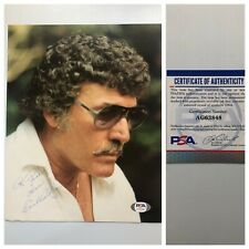 King Of Rockabilly Carl Perkins Signed Autograph 8x10 Photo PSA - FREE SHIPPING!