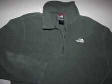 Mens The North Face Large Lightweight 1/4 Zip Jacket Gray T540