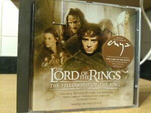 THE LORD OF THE RINGS-THE FELLOWSHIP OF THE RING CD-O.M.P. SOUNDTRACK. 2001.