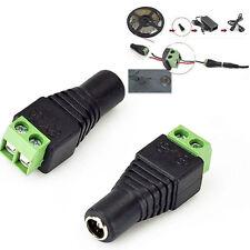 12V 24V DC Adapter Verbinder female für LED Netzteil Streifen Strip 5050 3528