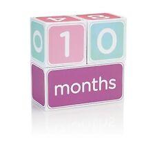 Pearhead Baby Age Block Set Pink -