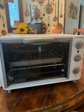 GE EXTRA LARGE CAPACITY TOASTER OVEN/ BROILER MODEL # 106632 EXCELLENT CONDITION