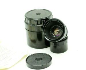 JUPITER-12 2,8/35mm Rangefinder Black Lens M39 Fed Zorki Leica Retro L39 JNR56