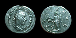PHILIP I the Arab - AR Antoninianus SALVS AVG Rome