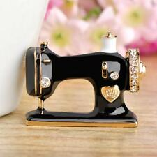 Fashion Creative Ladies Alloy Sewing Machine Shape Pin Brooch Clothing Accessory