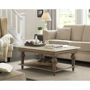Coffee Table for Living Room Home Decor Solid Wood Table Traditional Farmhouse