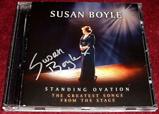 SUSAN BOYLE..STANDING OVATION..HAND SIGNED / AUTOGRAPHED CD EX