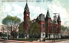 Charleston,West Virginia,State Capitol,Used,1907