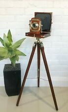 Vintage Look Folding Camera with Tripod Stand #1619