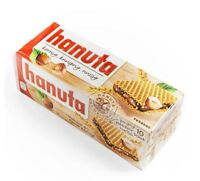 3 x HANUTA BOX 30 PIECES - WAFFLE CHOCOLATE CANDY SWEETS CANDIES FROM GERMANY