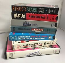 The Beatles LOT of 7- VHS