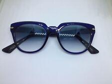 PERSOL 3111-S occhiali da sole hand made Italy unisex blue gradient sunglasses